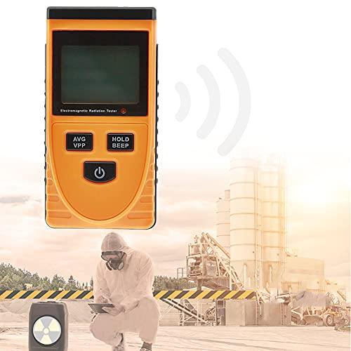 HIMAPETTR Mini Rilevatore di Radiazione, Portatile Misuratore di Emf, LCD Digitale, Rilevatore Onde Elettromagnetiche, per Radiografia Rivelatore di Radiazioni Rivelatore di Radiazioni
