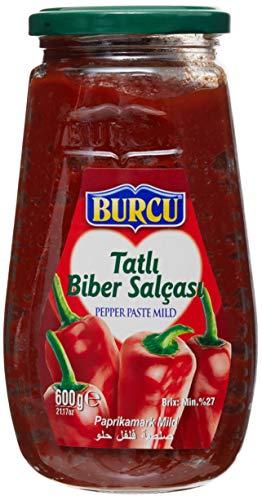 Burcu Paprikamark Süß - Tatli Biber Salcasi 600g