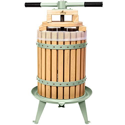Lacewing Saftpresse mit Druckhebel für Obst, Äpfel und Weintrauben, (18 Liter)