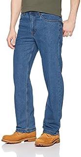 بنطلون جينز رجالي مرن من Smith's Workwear مقاس مريح بخمسة جيوب