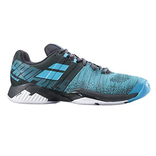 BABOLAT Propulse Blast Clay Men, Zapatillas de Tenis para Hombre, Grey/Blue