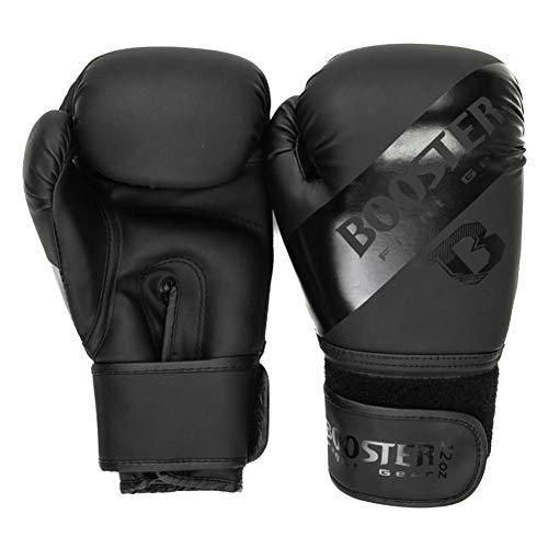 Booster Fightgear Boxhandschuhe BT Sparring - Schwarz - Boxhandschuh Boxen Kickboxen Sparring Muay Thai Martial Arts Kampfsport - Premium Boxhandschuhe (10 Unzen)