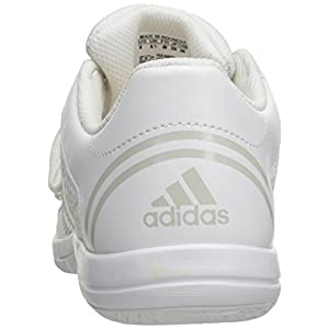 adidas Women's Triple Cheer Cross-Trainer Shoes, White/Sharp Light Grey, ((8.5 M US)