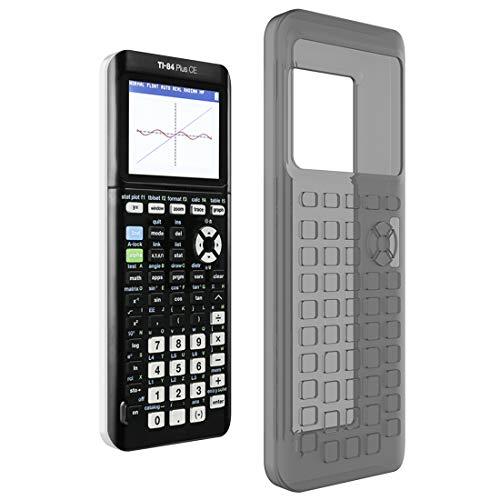 Disscool - Cover in silicone per Texas Instruments TI-84 Plus CE, morbida e anti-caduta, per calcolatrice grafica Texas Instruments TI-84 Plus CE