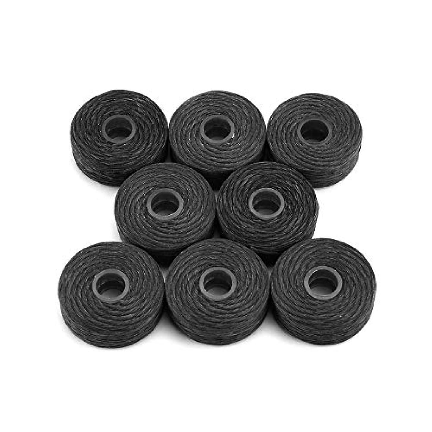 特徴づける絶対にカートン8ロール50メートル竹炭デンタルフロッサークリーニングミントフレーバーつまようじフロッサーデンタルクリーニング歯フロススティックブラック(Color:black)