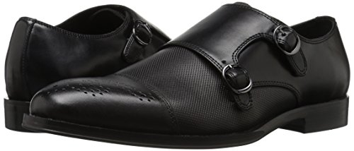 Steve Madden Men's Dauphen Oxford, Black Leather, 12 M US