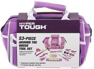 Hyper Tough 53-Piece Tool Set, Purple