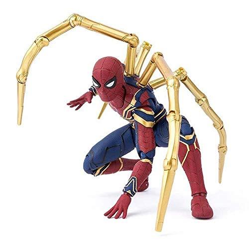 MA SOSER Iron Spiderman Avengers Infinite War Colección de Personajes de acción Modelo de Juguetes - 16CM