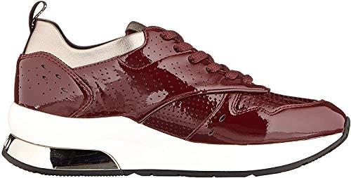 Liu Jo Shoes Karlie 14 Sneaker, Scarpe da Ginnastica Basse Donna, Rosso (Bordeaux S1703), 35 EU