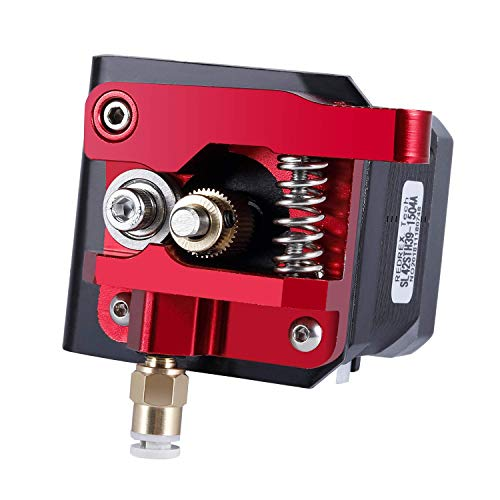 Redrex Upgraded Aluminum Bowden Extruder with 40 Teeth MK8 Drive Gear for Creality CR-10 Series Ender 3 and Other Reprap Prusa 3D Printers [Right Hand]