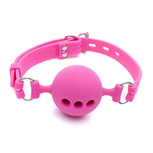 Spina in silicone solido rosa Gá Attrezzature da gioco per le donne