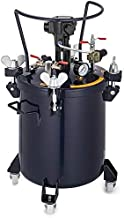 VEVOR Pressure Pot 10Gal /40L Pressure Feed Paint Pot Tank Mixer Sprayer Regulator Automatic Air Agitator Stirrer for House Keeping or Commercial Pain