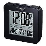 Oregon Scientific RM511 Orologio radiocontrollato con doppio allarme sveglia (Nero)