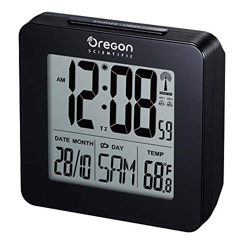 Oregon Scientific RM510 Digital Alarm Clock Nero