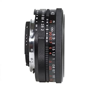 Voigtlander Ultron 40mm f/2 SL-II Aspherical Compact Manual Focus Lens for Nikon