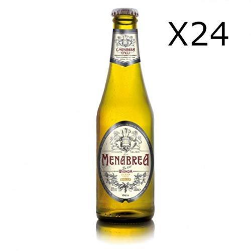 Menabrea Blondes Bier 24 x 33 cl