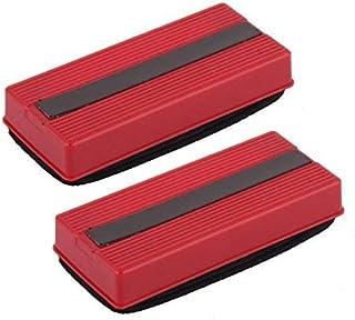 Yadianna 学校の長方形の形状のマグネットボード黒板クリーナー黒板消し2個
