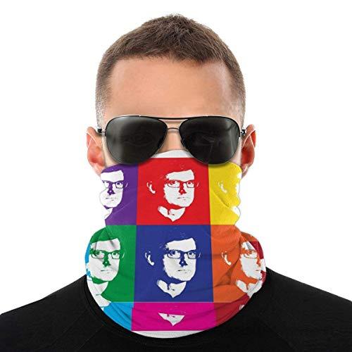 Yuantaicuifeng Gesicht Mundabdeckung Bandana Hals Gamasche Sturmhauben Louis Theroux Andy Warhol Variety Head Scarf Face Mouth Cover Magic Headwear Neck Gaiter Face Bandana Scarf