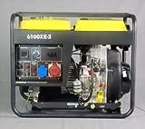 KOMPAK Generador de corriente Diesel 6.9 kVA DK6100LE-3 400 V