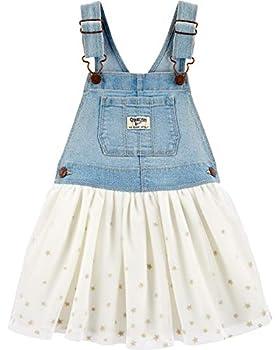 Osh Kosh Girls  Toddler World s Best Overalls Darla wash 5T