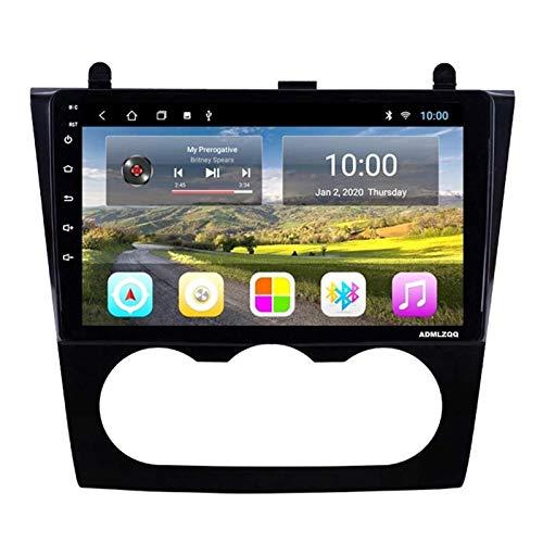 WY-CAR Navegación para Automóvil Pantalla Táctil HD 2.5D HD De 9 Pulgadas para Nissan Teana Altima (MT) 2008-2012, GPS/FM/Bluetooth/Controles del Volante/Enlace Espejo/Cámara De Visión Trasera