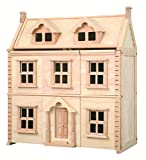 Plan Toys - Jouet en bois - La maison de poupées Victorienne