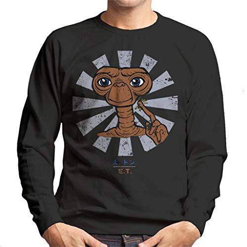 Cloud City 7 ET Extra Terrestrial Retro Japanese Men's Sweatshirt