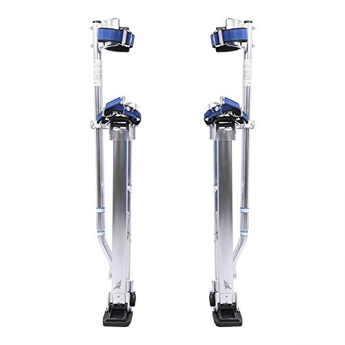 Drywall Stilts, Aluminum Alloy Professional Adjustable Strap Drywall Stilts...