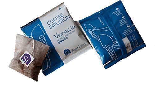 Sogno Si Coffee Bags VENEZIA 100% Arabica (doos met 50 gemalen koffiezakjes zoals theezakjes
