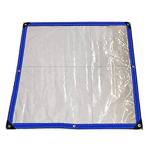 Dikker dekzeil Waterdichte poncho Transparante plastic Kas isolatie Regendichte doek UV-bestendig Zonnebrandcrème Anti-traan anti-aging 0 12 mm