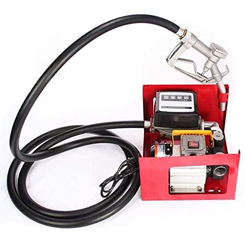 Sellador de Combustible eléctrico - Bomba de Transferencia de cebado 550 W...
