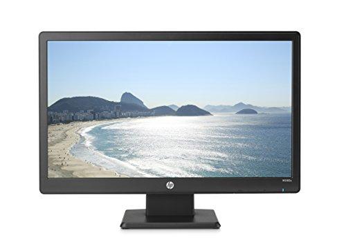 HP 20-inch LED (1600 X 900) LED Backlit Monitor with VGA & DVI-D Port (W2082a, Black) - L8K84AA#ABA