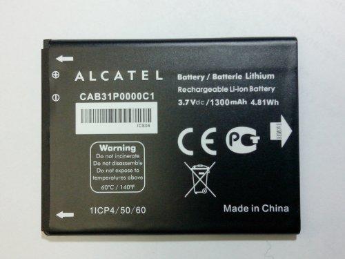 Alcatel CAB31P0000C1 Akku (ersetzt TLi014A1, kompatibel mit Alcatel OT-5020/OT5020D/OT-983/OT-4010/OT-4010D/One Touch T POP/OT-4033x/OT-4033E/OT-4033A/POP C3 /One Touch 908, Alcatel One Touch 908F, Alcatel One Touch 909, Alcatel One Touch 910, Alcatel One Touch 915, Alcatel One Touch 918, Alcatel One Touch 918D, Alcatel One Touch 985, Alcatel One Touch 990, Alcatel One Touch 990 Carbon, Alcatel One Touch 990 Chrome, Alcatel One Touch 990A, Alcatel OT-908, Alcatel OT-908F, Alcatel OT-908M, Alcatel OT-909, Alcatel OT-910, Alcatel OT-915)