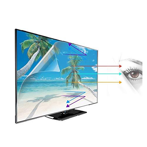ASPZQ Protector Pantalla TV, p LG 32-75 Pulgadas LED Película de Filtro Anti Luz Azul Y Deslumbramiento Protección para Los Ojos, Personalización de Soporte
