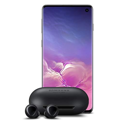 Samsung Galaxy S10 Factory Unlocked Phone with 128GB - Prism Black w/Galaxy Buds