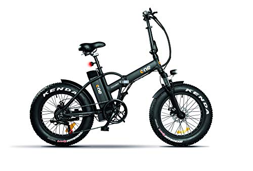 THE ONE Fat Bike Elettrica, Bici Unisex Adulto, Nero, no size