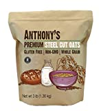 Best Steel Cut Oats - Anthony's Premium Steel Cut Oats, 3 lb, Gluten Review
