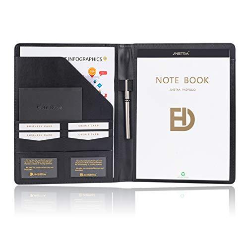 Padfolio Portfolio Leather Folder by Jinstra Professional Business PU...
