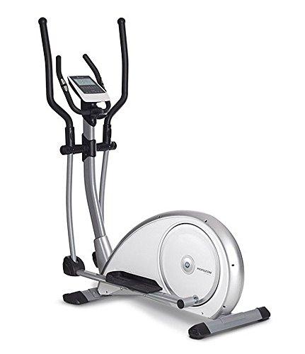 Horizon Fitness Cross Trainer Syros, Bianco/Argento, 100689