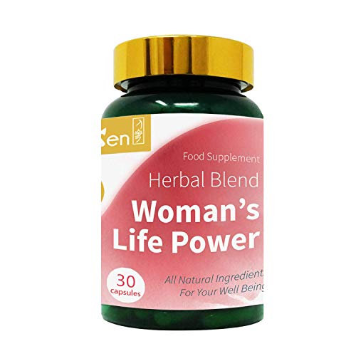 GinSen Woman's Life Power (30 Caps) Helps with FSH, AMH, Egg Quality and Quantity, Fertility, Irregular Periods, Irregular Ovulation, Natural Conceive, PCOS, Vegan, Vegetarian, Natural, UK Made