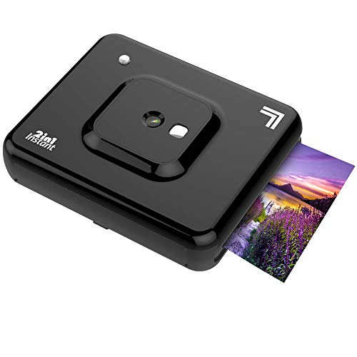 "Sale!! Sharper Image 2 in 1 Wireless Instant Film Camera and Photo Printer, 3"" x 3"" | Premium Qu..."