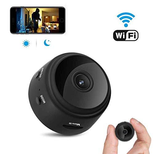 ZHITING Videocamera spia, Telecamera WiFi nascosta wireless HD 1080P Mini videocamera Videocamere portatili per la sicurezza domestica Videocamera nascosta Videoregistratore per interni