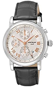 Montblanc Chronograph GMT Automatic Mens Watch 36967 image