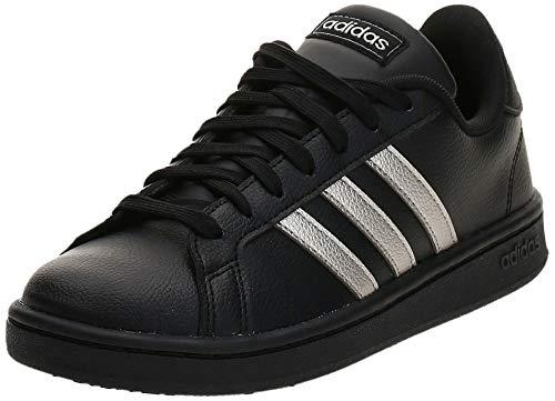 adidas Grand Court EE8133; Womens Sneakers; EE8133_39 1/3; Black; 39 1/3 EU (6 UK)