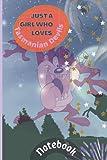 Just a Girl Who Loves Tasmanian Devils Notebook - Blank Lined Notebook, Tasmania & Australia, Tasmanian Devil Gifts, Marsupial Animal - 6 x 9 in.: 6x9 ... | Gift Idea for Animal Lover Gift Idea for