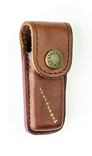 TUFF LUV Echt Leder Holster Hülle Tasche Für Leatherman Heritage Micra LPH50 Xtra Small - Brown