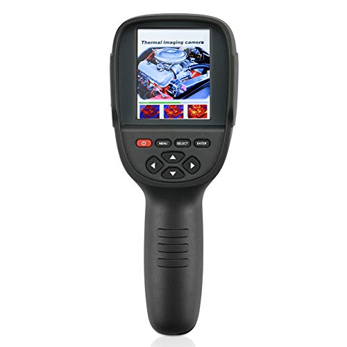 JSX Handheld IR imagerie Thermique, caméra de Vision numérique Affichage Mesure étage de température de détection et d'entretien de Puissance de Chauffage Nuit caméra Thermique