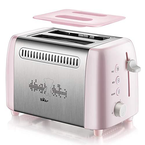 Tostadora Acero inoxidable automática panificadora Cafetera, seguro y estable, fácil de usar, desmontable, lavable, de dos vías del cruzado de calefacción, for el hogar, amigable for los principiantes