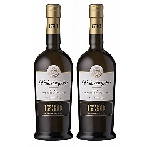 Vino Palo Cortado VORS 1730 de 75 cl - D.O. Jerez-Sherry - Bodegas Alvaro Domecq (Pack de 2 botellas)