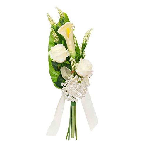Ramo Floral Artesanal Decorativo de Novia para Alfileres
